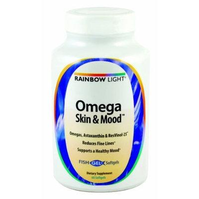 Rainbow Light Omega Skin and Mood Vitamins, 60 Count