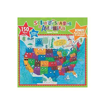 Gamewright The Scrambled States of America Puzzle