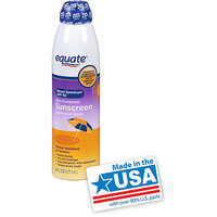 Equate Ultra Protection Sunscreen Continuous Spray, SPF 50, 6 fl oz