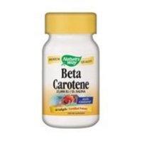 NATURE'S WAY Beta Carotene 25,000 IU 60 softgels