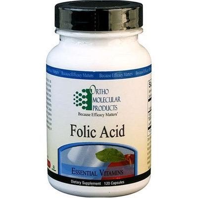 Ortho Molecular - Folic Acid - 120 Capsules