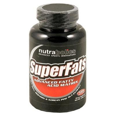 Nutrabolics SuperFats, Advanced Fatty Acid Matrix, 120 Softgels
