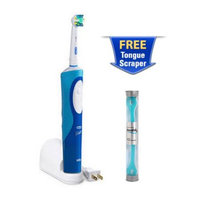 Oral-B D12523 + TongueScraper Vitality Floss Action Rechargeable Tooth