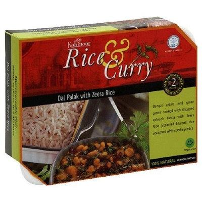 Kohinoor - Rice & Curry - Dal Palak with Zeera Rice