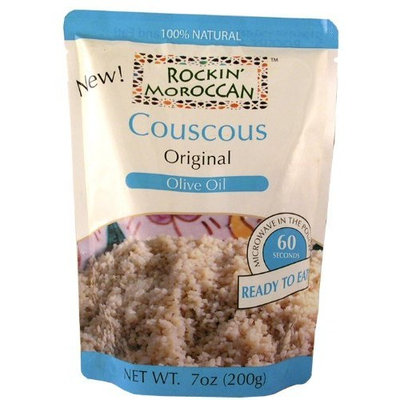 Rockin Moroccan Original couscous, 7-Ounce Bags (Pack of 6)