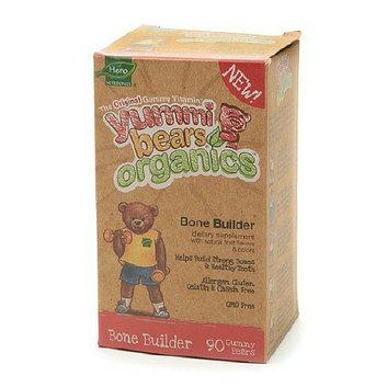 Yummi Bears Organics Bone Builder Dietary Supplement Gummies