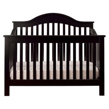 DaVinci Jayden 4-in-1 Convertible Crib with Toddler Rail - Ebony