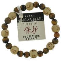 Zorbitz Inc. Tigers Eye Karma Bracelet: Protection From Evil and Anxiety Novelty Item