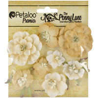 Regal Imports, Inc. Penny Lane Mixed Blossoms 8/Pkg Antique Gold