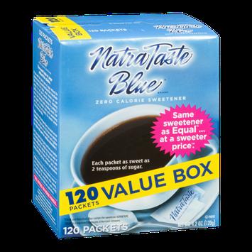 Natra Taste Blue Zero Calorie Sweetener - 120 CT