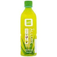 alo Sport ALO Allure Aloe Vera Beverage, Mangosteen & Mango, 16.9 Ounce (Pack of 12)