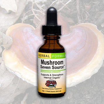 Herbs Etc - Mushroom Seven Source Professional Strength - 1 oz.