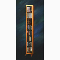 Wood Shed Dowel CD Storage Tower (Clear)