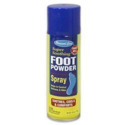 Nutrition 21 Foot Powder Aerosol Spray - 12 Pack