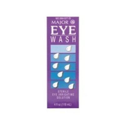 Major Pharmaceuticals Eye Wash 4 oz Bottles (Pack of 2)