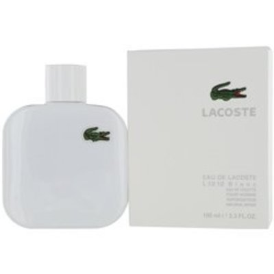 LACOSTE EAU DE LACOSTE L.12.12 BLANC by Lacoste EDT SPRAY 3.4 OZ