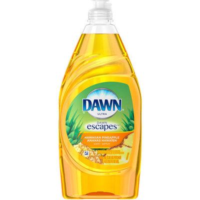 Dawn Ultra Hawaiian Pineapple Scent Dishwashing Liquid, 21.6 fl oz