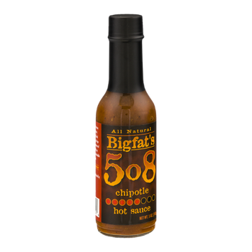 Bigfat's 508 Hot Sauce Chipotle