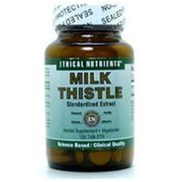 Milk Thistle Extract Ethical Nutrients 120 Tabs