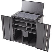 Humes & Berg Mobile Percussion Cabinets Pc300 - 32.5X20X35 Inches