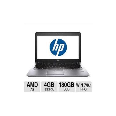 HP EliteBook 725 G1 Notebook PC - AMD A8-7150B 2GHz Quad-Core, 4GB DDR3L, 180GB SSD, 12.5