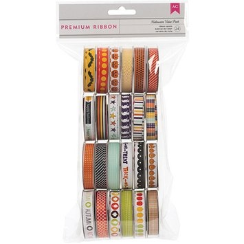 American Crafts Value Pack Seasonal 1 Premium Ribbon - 24 Spools