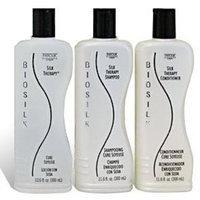 BioSilk Trio: SilkTherapy Value Three Pack with Silk Therapy Shampoo 12 oz, Silk Therapy 12 oz, and Silk Therapy Conditioner 12 oz by Farouk