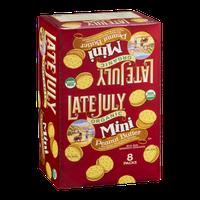 Late July Organic Mini Peanut Butter Sandwich Cracker - 8 CT