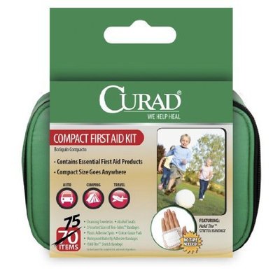 Curad Travel Kit In Soft Case, 75 Count