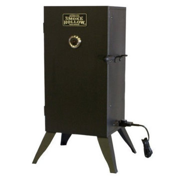 Smoke Hollow Outdoor Smokers 30 in. Vertical Electric Smoker Black 30162E