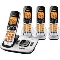 Uniden DECT 6.0 Cordless Phone with 4 Handsets