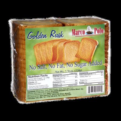 Maro Polo Golden Rusk Toast