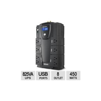 CyberPower LE825DG Simulated Sine Wave UPS - 825VA / 450W, 8 Outlets, USB Port - LE825DG