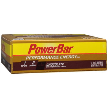 PowerBar Performance Energy Bars Chocolate