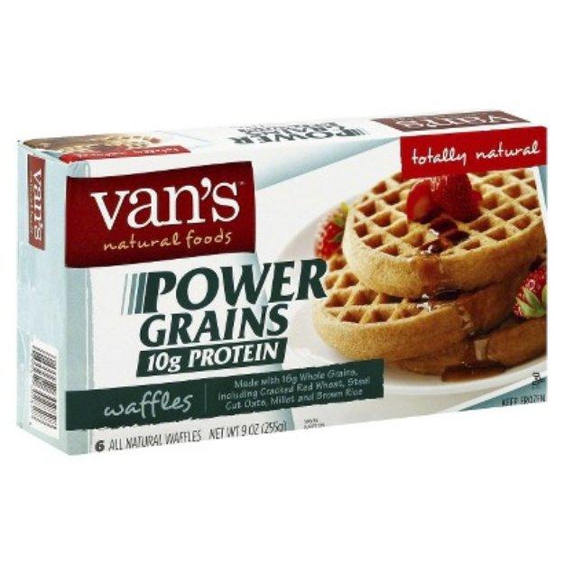 Van's Natural Foods Van's Power Grains Waffles 6 ct