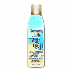 Panama Jack Kids Continuous Clear Sunscreen Spray SPF 50