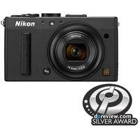 Nikon Black COOLPIX A Digital Camera with 16.2 Megapixels and 1x Optical Zoom