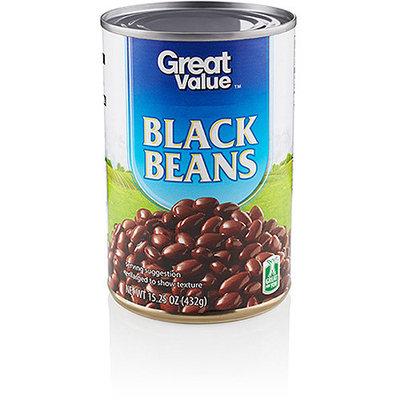 Great Value: Black Beans, 15.25 Oz
