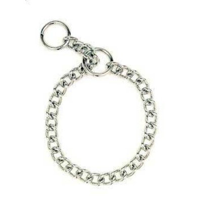 Coastal Pet Herm Sprenger Steel Chain Choke Dog Collar 22 in. with 3 mm. Heavy links