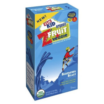 CLIF Clif Kid Zfruit & Veggie Blueberry Fruit Snacks 5 ct