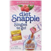 Diet Snapple Singles To Go Raspberry Tea Pack of 12