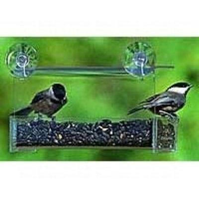 Duncraft 73601 Classic Windowpane Bird Feeder, 1.5-Quart (Discontinued by Manufacturer)