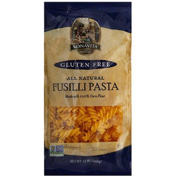 Bonavita Fusilli Pasta, 12 oz, (Pack of 6)
