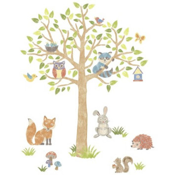 Brewster WallPops! Woodland Tree Giant Wall Art Kit - Multicolor