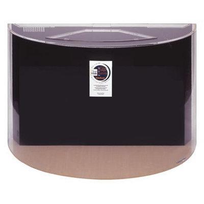 Advance Aqua Tanks Uniquarium Mezzo Aquarium Black, Size: 125-Gal (48W x 24D x 30H in.)
