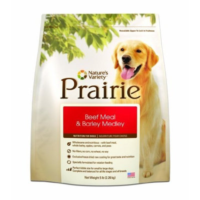 Instinct Grain Free Instinct Grain-Free Beef Meal & Lamb Meal Dry Dog Food by Nature's Variety, 4.4-Pound Package
