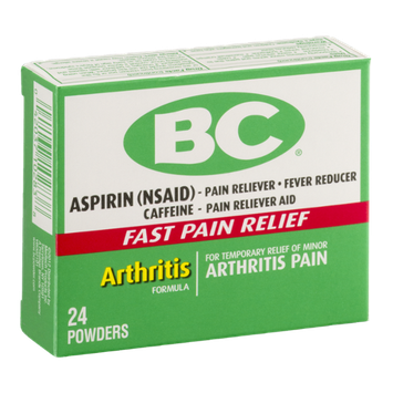 BC Aspirin Powder Arthritis Pain - 24 CT