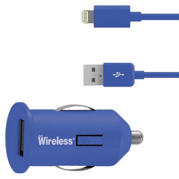 Just Wireless USB Mobile Battery Charger for iPhone 5/5S - Blue