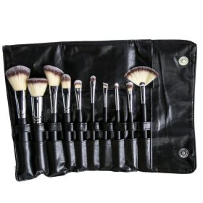 Morphe Brush 502 10 Piece Deluxe Vegan Set