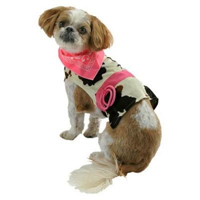 Boots & Barkley Cowgirl Pet Costume - X-Small